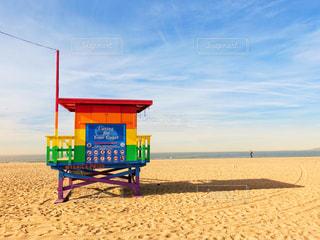 海,ビーチ,カラフル,海岸,アメリカ,旅行,ロサンゼルス,カリフォルニア,ベニスビーチ,アメリカ旅行