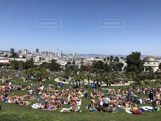 公園,夏,屋外,アメリカ,サンフランシスコ