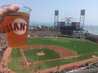 屋外,アメリカ,サンフランシスコ,野球,スタジアム,ベースボール,メジャー・リーグ