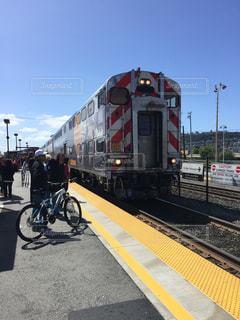 電車,アメリカ,サンフランシスコ,西海岸,カル・トレイン