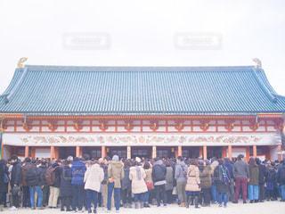 京都 平安神宮の初詣の写真・画像素材[991259]