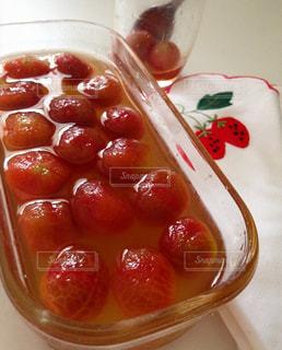 ミニトマトのはちみつ漬けの写真・画像素材[1081410]