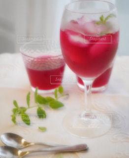 紫蘇ジュースの写真・画像素材[1249442]
