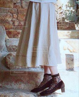 シースルーパンプス♡靴下もシースルーにしたの♡の写真・画像素材[1821358]