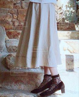 シースルーパンプス♡靴下もシースルーにしたの。の写真・画像素材[2158089]