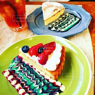 カフェ,ケーキ,太陽ノ塔