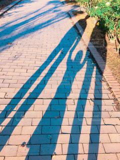 はじめての親子手繋ぎ散歩!の写真・画像素材[1640392]