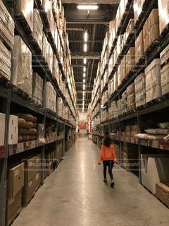 倉庫,お買い物,スキップ