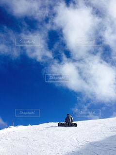 自然,風景,アウトドア,空,冬,雪,屋外,雪山,景色,ゲレンデ,休日,快晴,天気,スノーボード,リフレッシュ