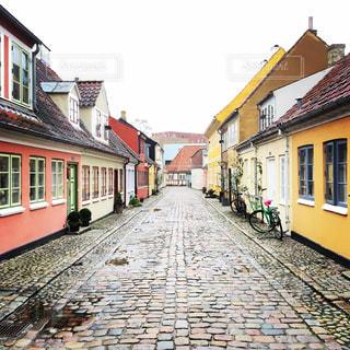 童話作家アンデルセンの故郷「オーデンセ」の写真・画像素材[1018744]