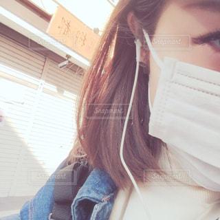 マスクの写真・画像素材[1066095]