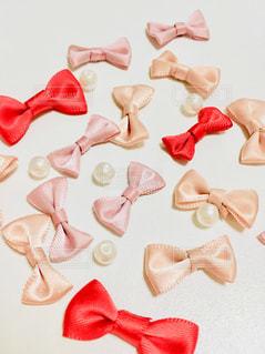 ピンク,リボン,レッド,ホワイト,パール,りぼん,パープルピンク