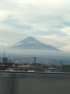 自然,空,富士山,山,新幹線