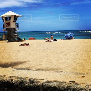 空,屋外,ビーチ,景色,ハワイ,眺め