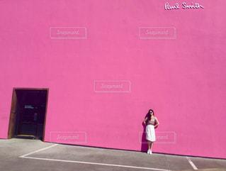 Pink Wall 💗の写真・画像素材[996439]