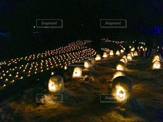 湯西川温泉かまくら祭☃️の写真・画像素材[997822]