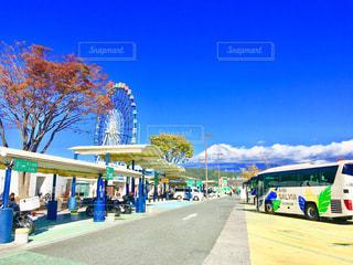 富士山と観覧車 - No.1018253