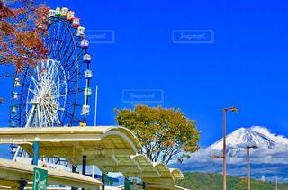 富士山と観覧車 - No.1018267