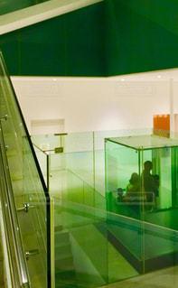 21世紀美術館のエレベーターの写真・画像素材[1019893]