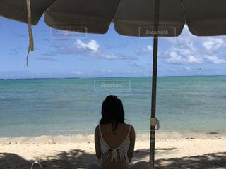 海,空,晴れ,水面,海岸,旅行,休日,エメラルドグリーン,GUAM,ブルースカイ,スロータイム