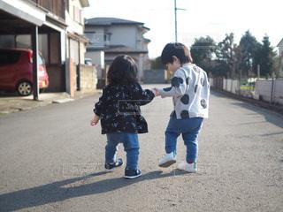 お散歩の写真・画像素材[1317467]