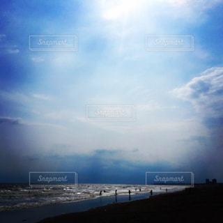 自然,海,空,屋外,ビーチ,雲,波,海岸