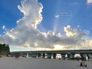 自然,海,空,夏,屋外,雲,晴れ,晴天,沖縄,休日,日中