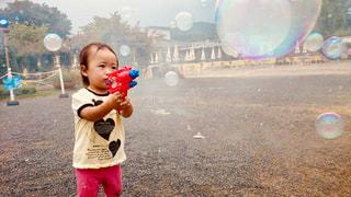 子供,シャボン玉,幼児,あしかがフラワーパーク