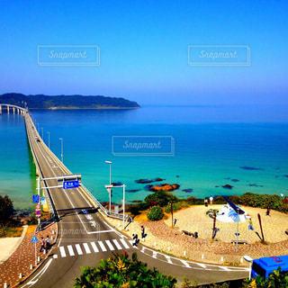 角島大橋の写真・画像素材[1013712]