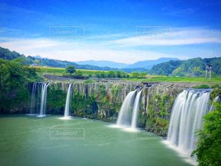 原尻の滝の写真・画像素材[1013739]