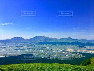 阿蘇の大観峰の写真・画像素材[1220580]