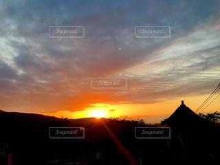 高塔山からの夕焼けの写真・画像素材[1268826]