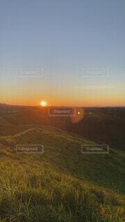 自然,風景,空,屋外,朝日,雲,熊本,雲海,阿蘇,日の出,大観峰