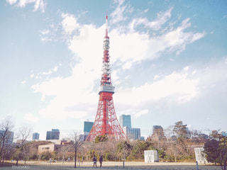 空,東京タワー,都会,休日,お出かけ