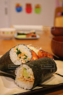 節分スタミナ巻き寿司の写真・画像素材[1771426]