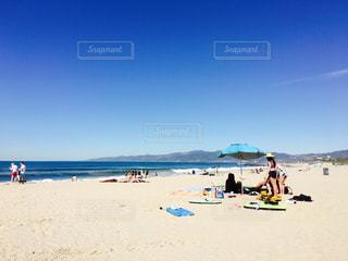 自然,海,屋外,ビーチ,青,砂浜,海岸,アメリカ,ロサンゼルス,西海岸,日中,ベニス,ヴェニスビーチ