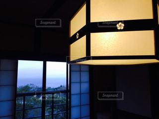 照明,和室,旅館,温泉旅行,障子