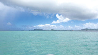 海,海外,南国,晴れ,水色,ハワイ,綺麗な海