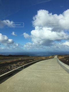 自然,空,雲,道,旅行,お出かけ,日中
