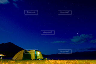 星空キャンプの写真・画像素材[1464009]