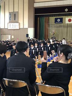 入学式の時の写真・画像素材[1142088]