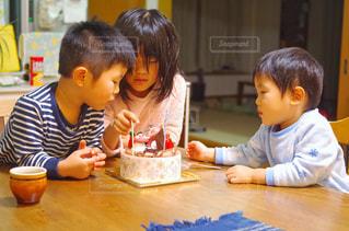 クリスマスケーキが待ち遠しい。の写真・画像素材[1695314]