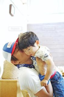 父親と子供の写真・画像素材[2187609]
