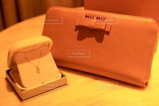 リボン,財布,りぼん,ピンクベージュ,ミュウミュウ,miu miu