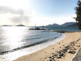 風景,綺麗,海辺,旅行,小豆島,撮影場所,戸形小学校からの風景