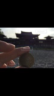 風景,平等院,10円玉
