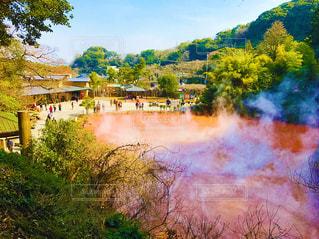 地獄温泉の写真・画像素材[1030295]