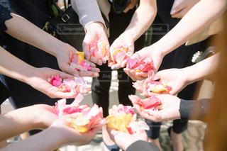 結婚式,ハート,リボン,ウエディング,wedding,flower,折り紙,pink,フラワーシャワー,りぼん,祝福,ぴんく,ribbon,ミッキーシャワー