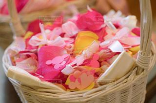 花,ピンク,赤,結婚式,ハート,リボン,wedding,flower,フラワーシャワー