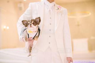 カメラにポーズ人の写真・画像素材[1187395]